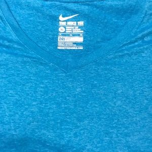 Nike dri fit tee XL blue